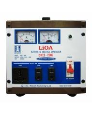 Ổn áp 1P DRII LiOA DRII-1000 1kVA (Nâu đậm)
